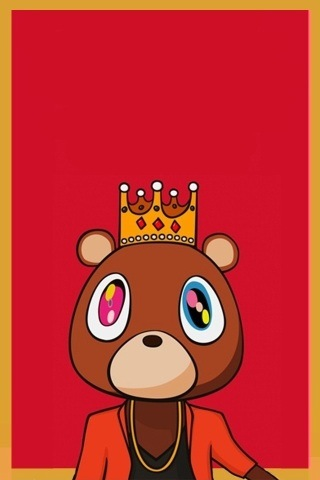 Kanye West Wallpaper IPhone  6 Kanye West Bear Iphone Wallpaper
