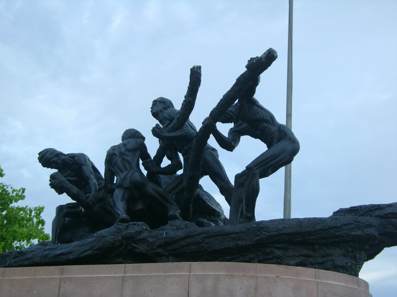 Triumph of Labour Statue
