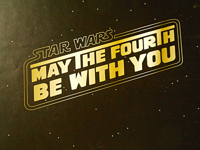 FunMozar ��� Happy Star Wars Day! May The 4th Be With You!