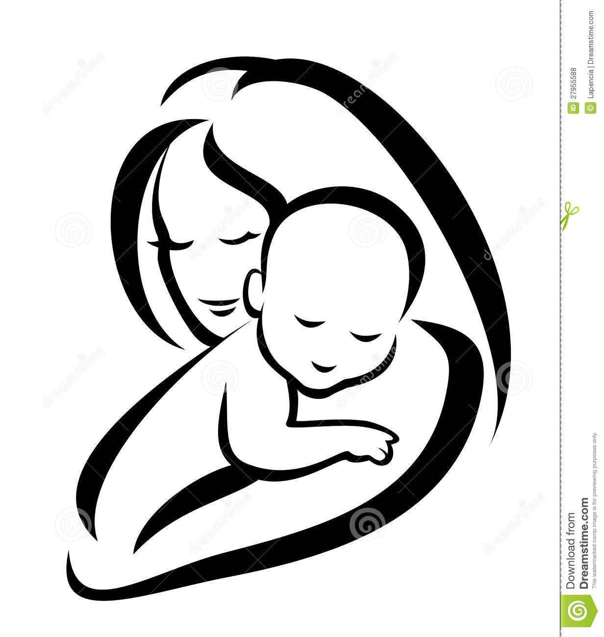 free clip art mother child - photo #25