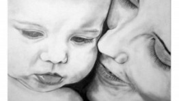 Mother And Baby Love Drawing 33 300×236