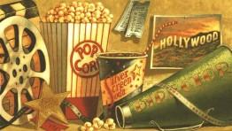 Movie Theater Popcorn Wallpaper 1