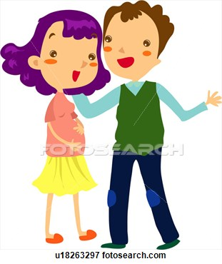 Only Mother And Father Clipart 3