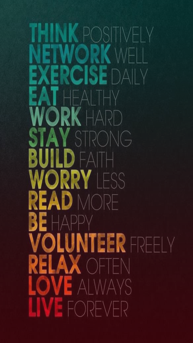 Positive Quotes IPhone Wallpaper 1