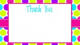 Printable Thank You Cards 2 300×300