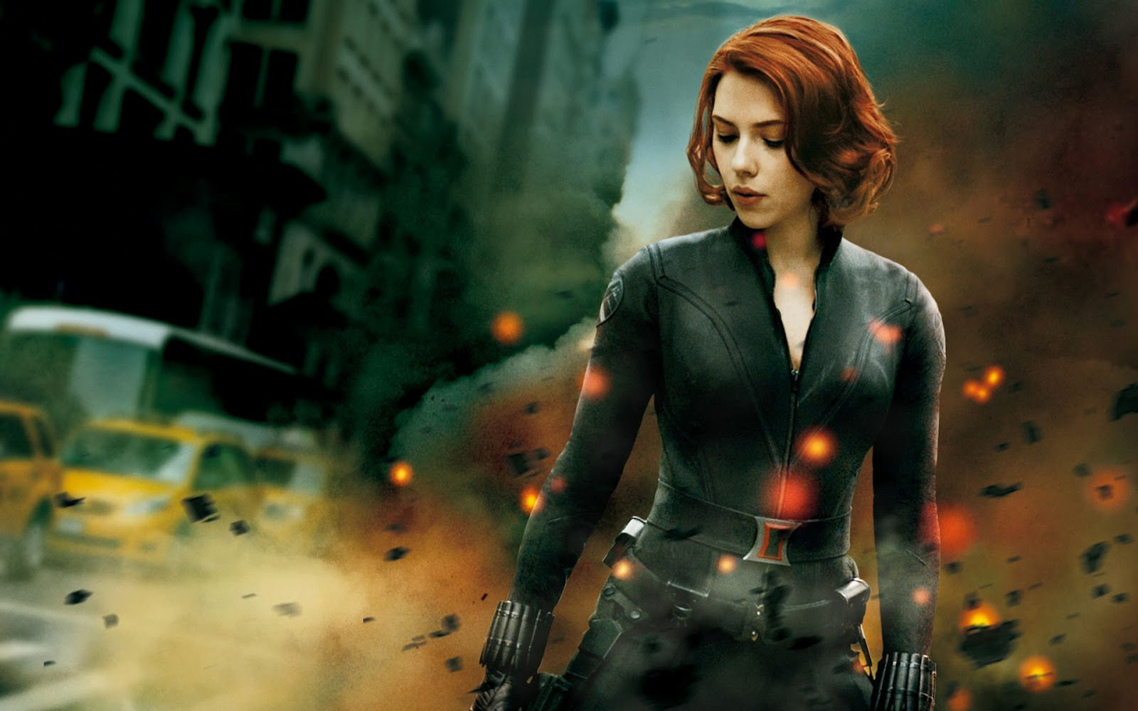 Scarlett Johansson Wallpaper Black Widow 4