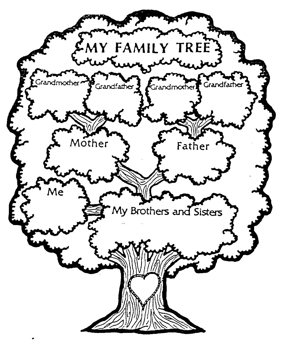 Simple Family Tree Drawing 6