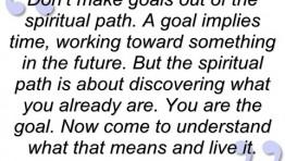 Spiritual Path Quote