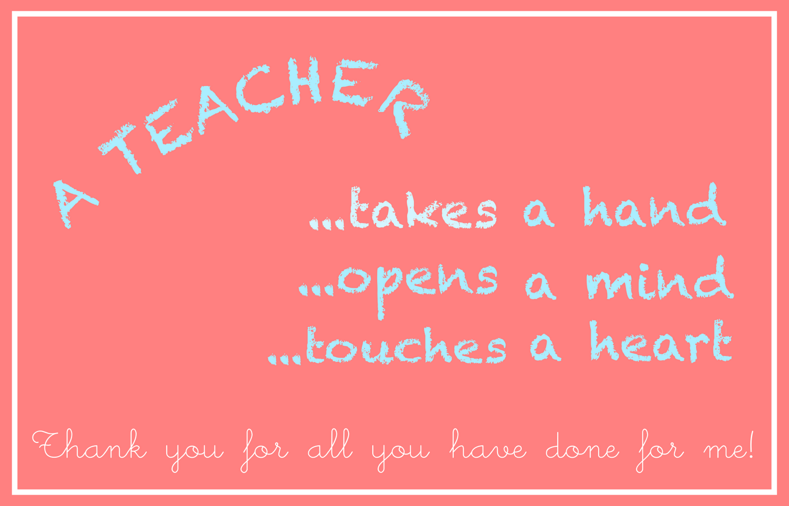 Thank You Cards For Teachers Zrom