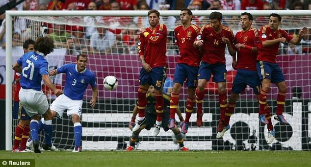 Andrea Pirlo Free Kick 5