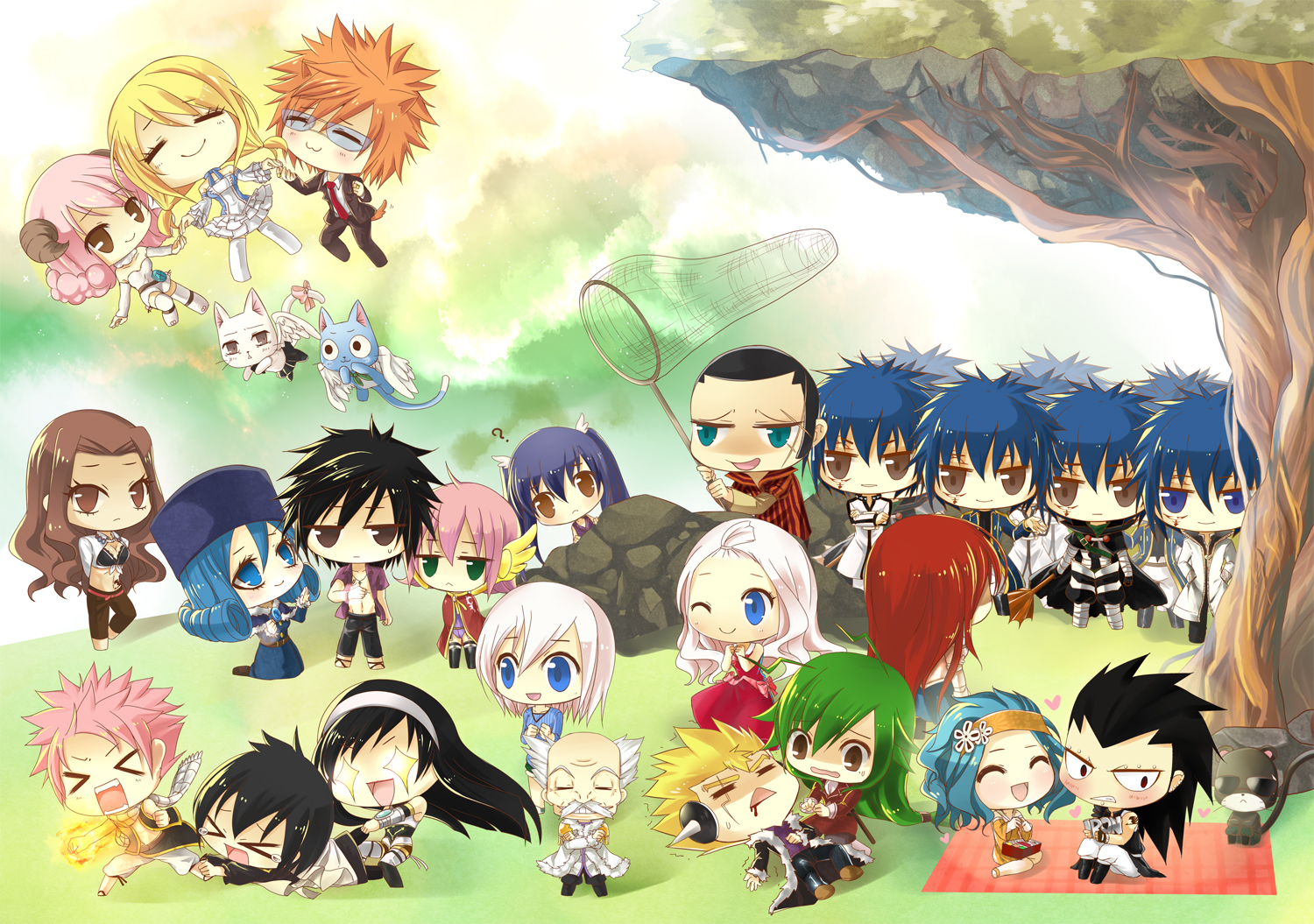 Anime Chibi Fairy Tail 5