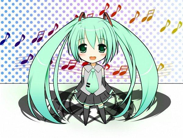 Anime Chibi Vocaloid 5
