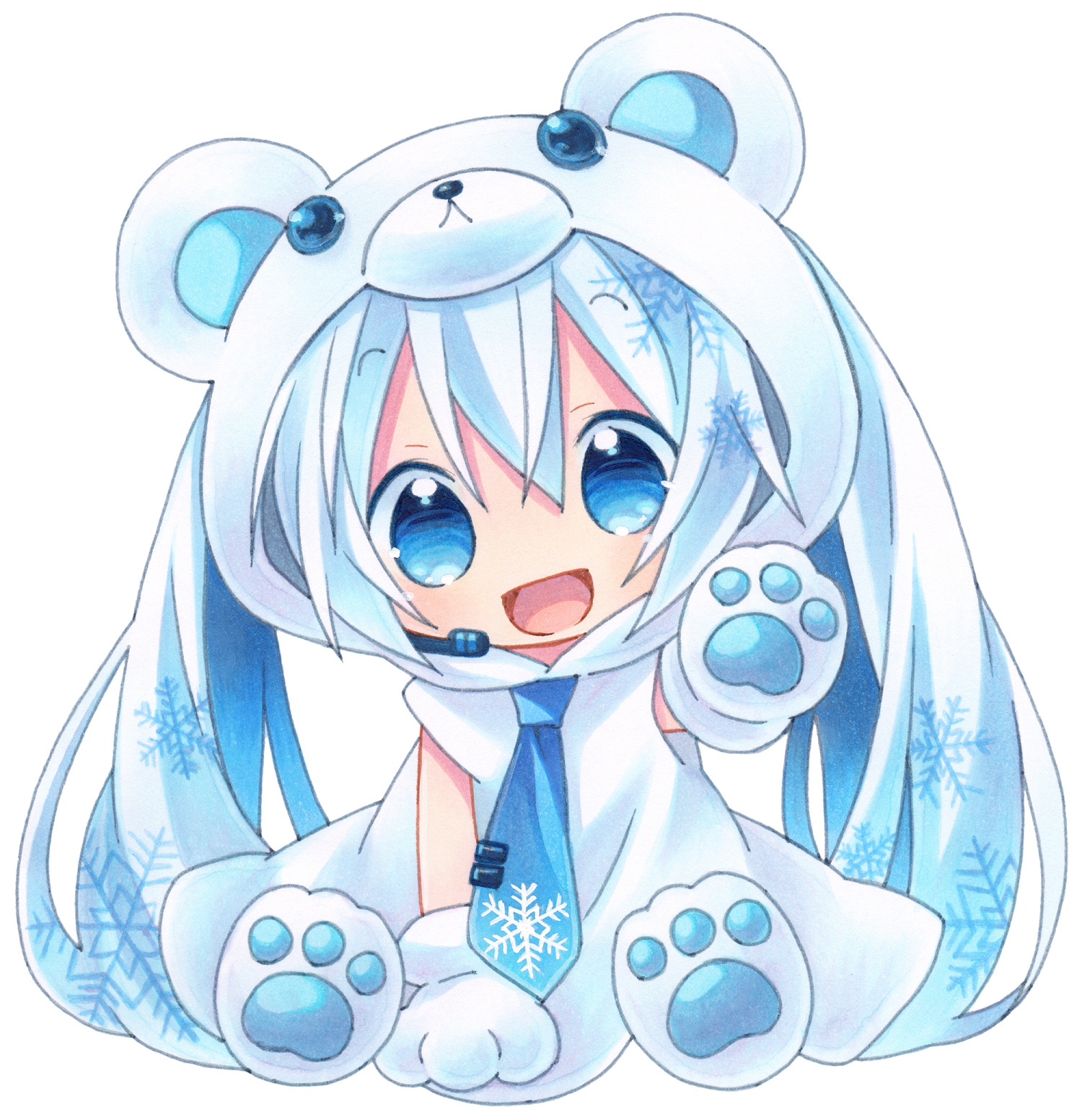 Anime Chibi Vocaloid – HD Wallpaper Gallery