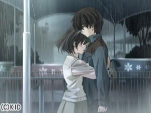 Anime Couple Hugging In Rain 3 300×225