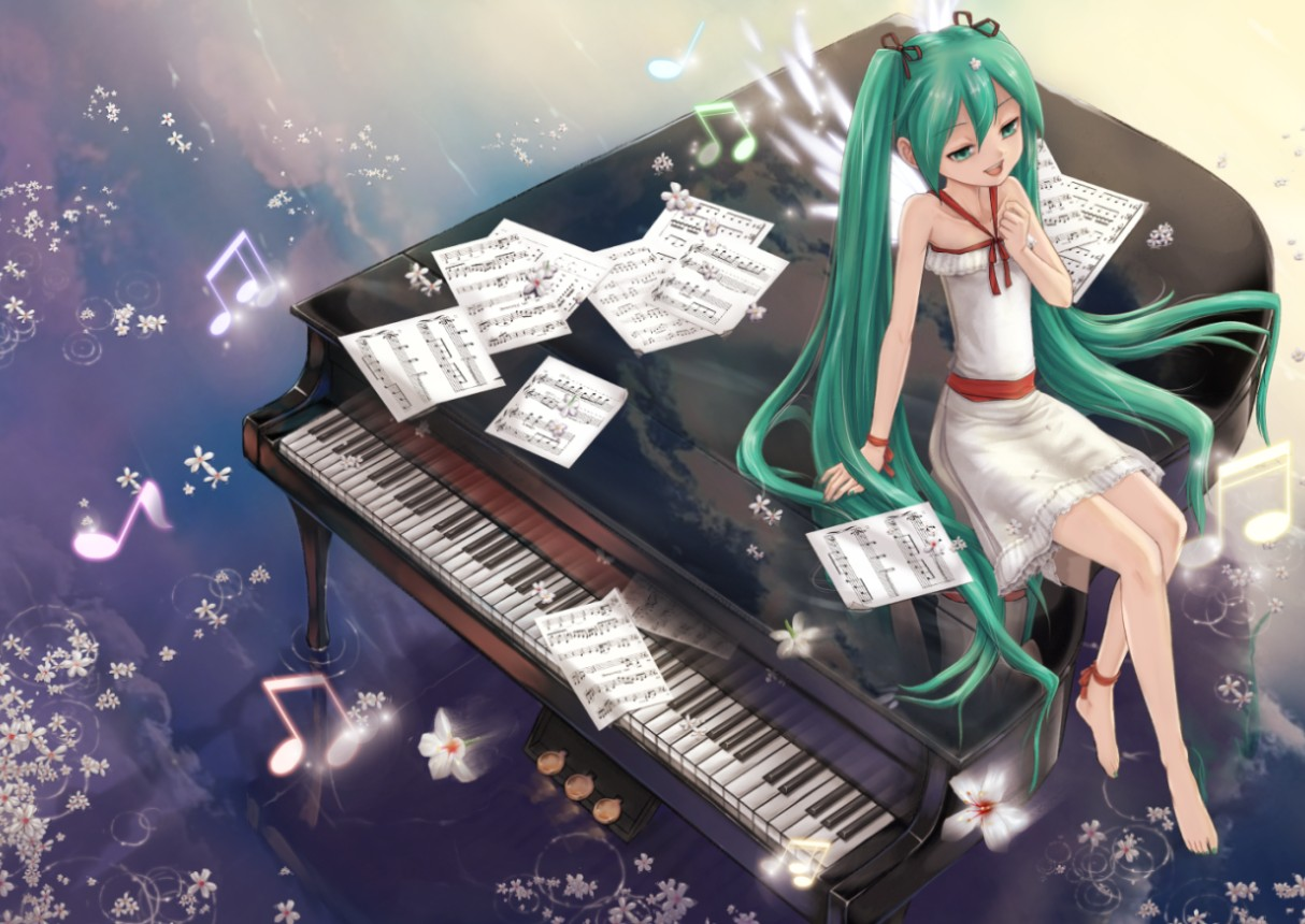 Anime Music Wallpaper Piano 3