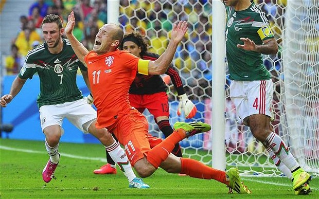 Arjen Robben Diving 2