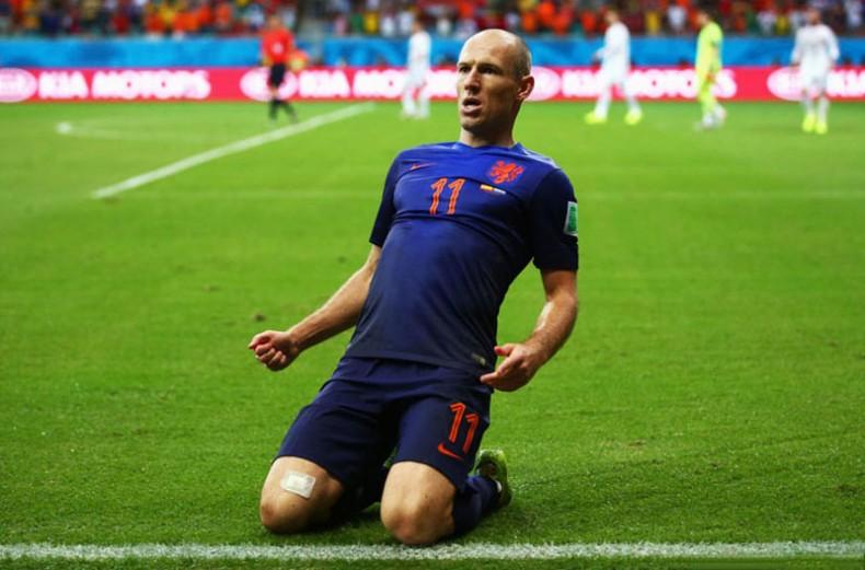 Arjen Robben World Cup 2014 4
