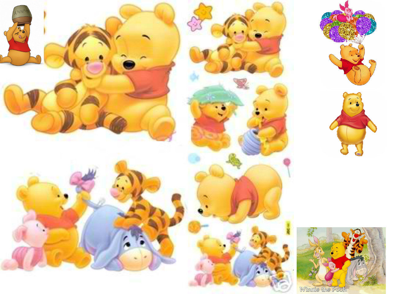 baby winnie the pooh and friends pictures images. Black Bedroom Furniture Sets. Home Design Ideas