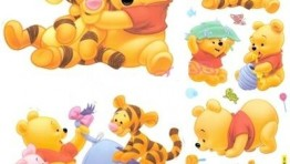 Baby Winnie The Pooh And Tigger And Piglet