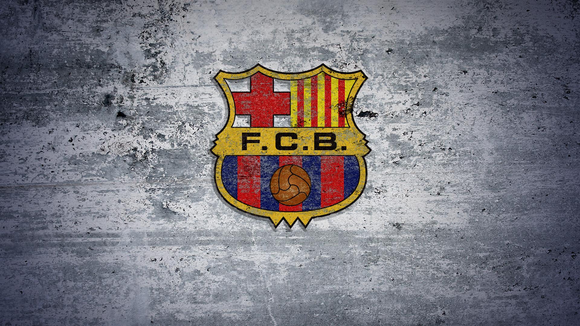 Barcelona Soccer Logo Wallpaper 1