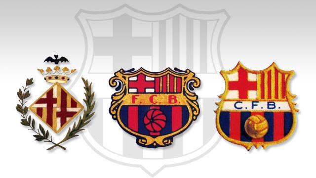 Barcelona Soccer Team Logo Outline 2