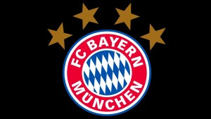 Bayern Munich Logo With 5 Stars 2 300×169