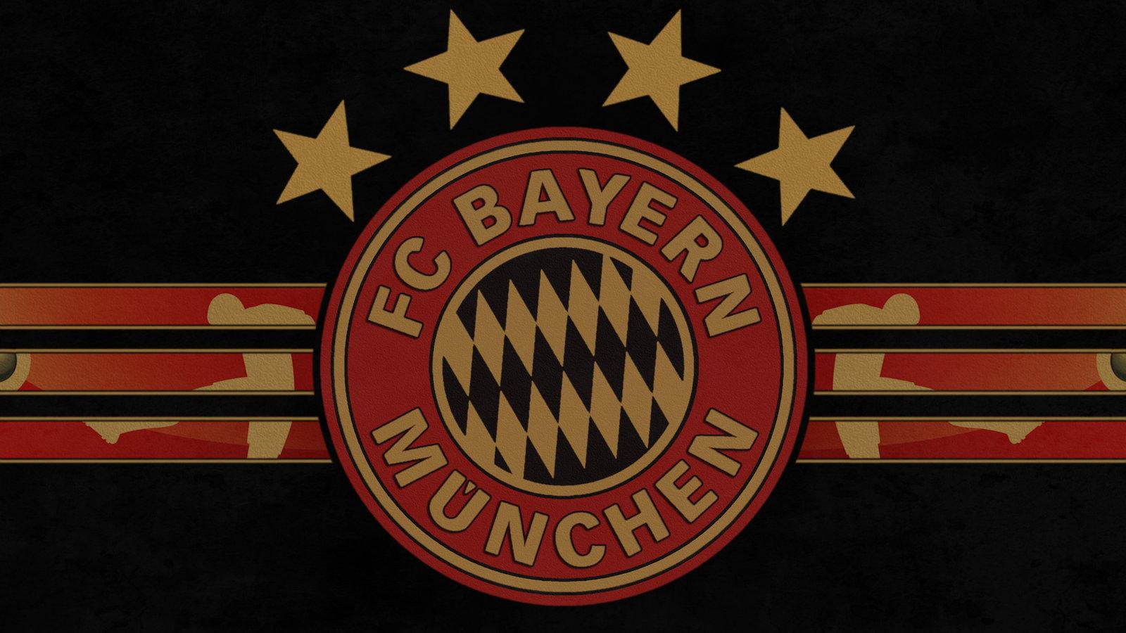 Bayern Munich Logo With 5 Stars Bayern Munich Logo With 5