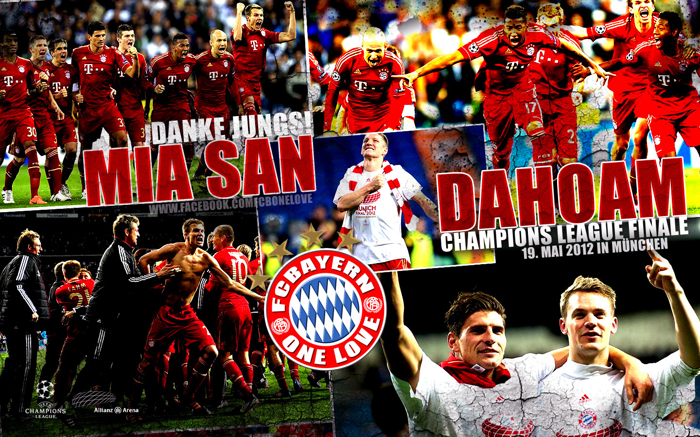 Bayern Munich Team Wallpaper 1