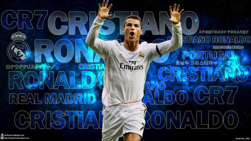 Cristiano Ronaldo Real Madrid 2014 Wallpaper (3)