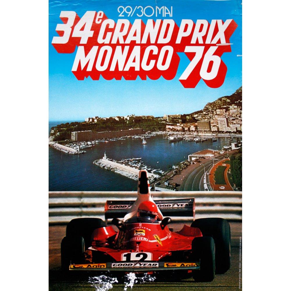 F1 Grand Prix Poster 16
