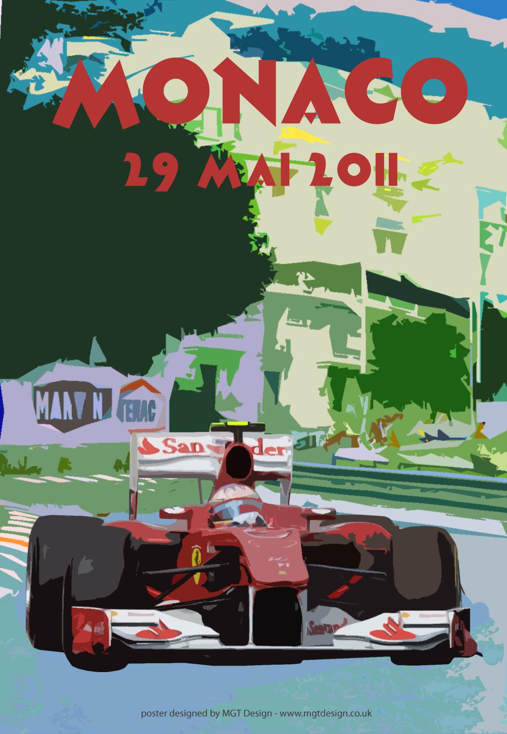 F1 Grand Prix Poster 2