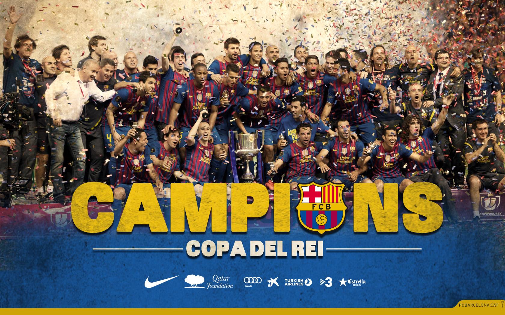 FC Barcelona Team Wallpaper 2013 5