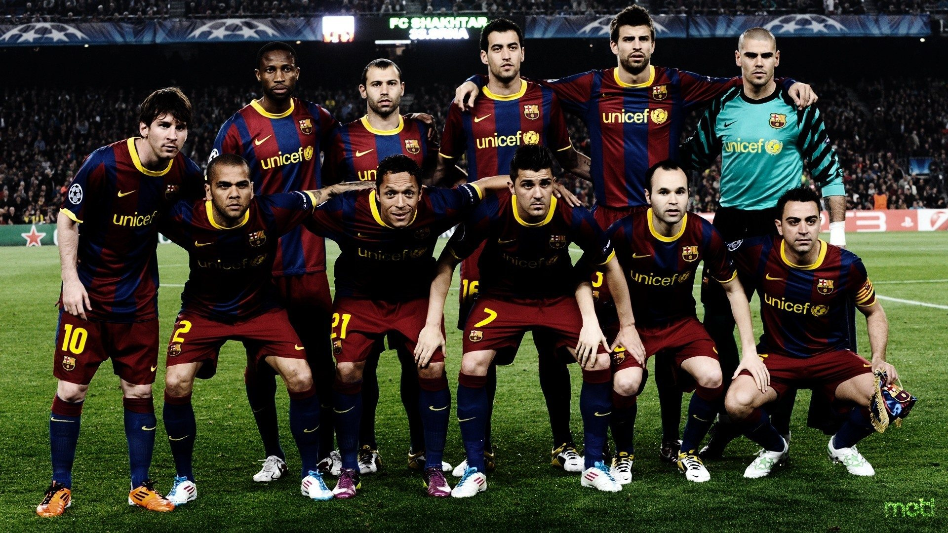 Fc Barcelona Team Wallpaper 4