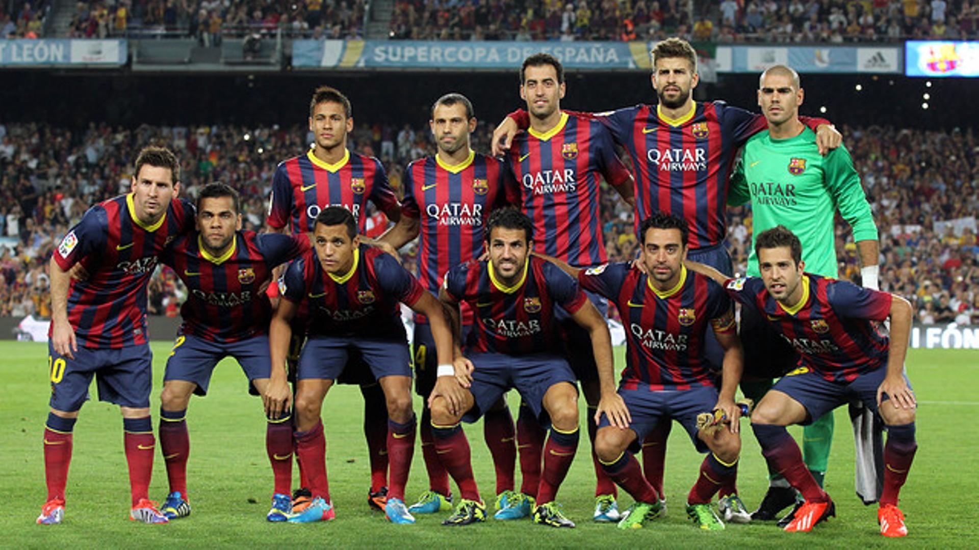 Fc Barcelona Team Wallpaper 5