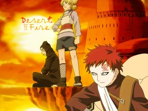 Gaara Of The Sand Shippuden Wallpaper 2 300×225
