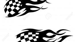 Grand Prix Flag Vector 13