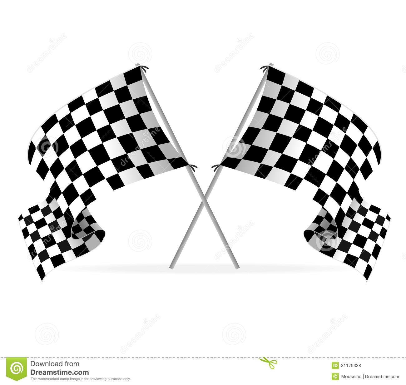 Grand Prix Flag Vector 16