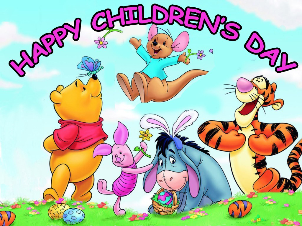 Happy Childrens Day Card 1