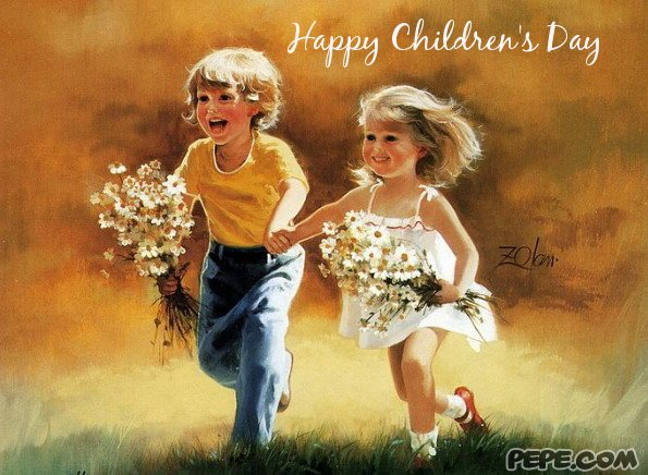 Happy Childrens Day Card 13