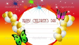 Happy Childrens Day Card 3