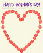 Happy Mothers Day Card Insert 4