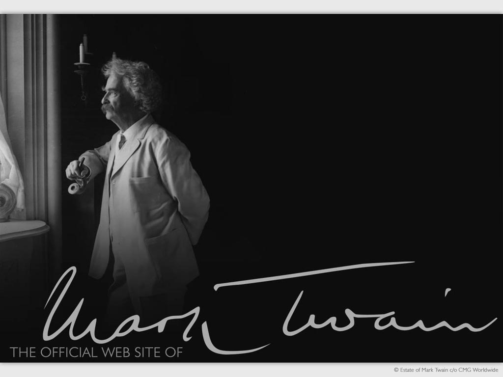 Mark Twain Wallpaper 1