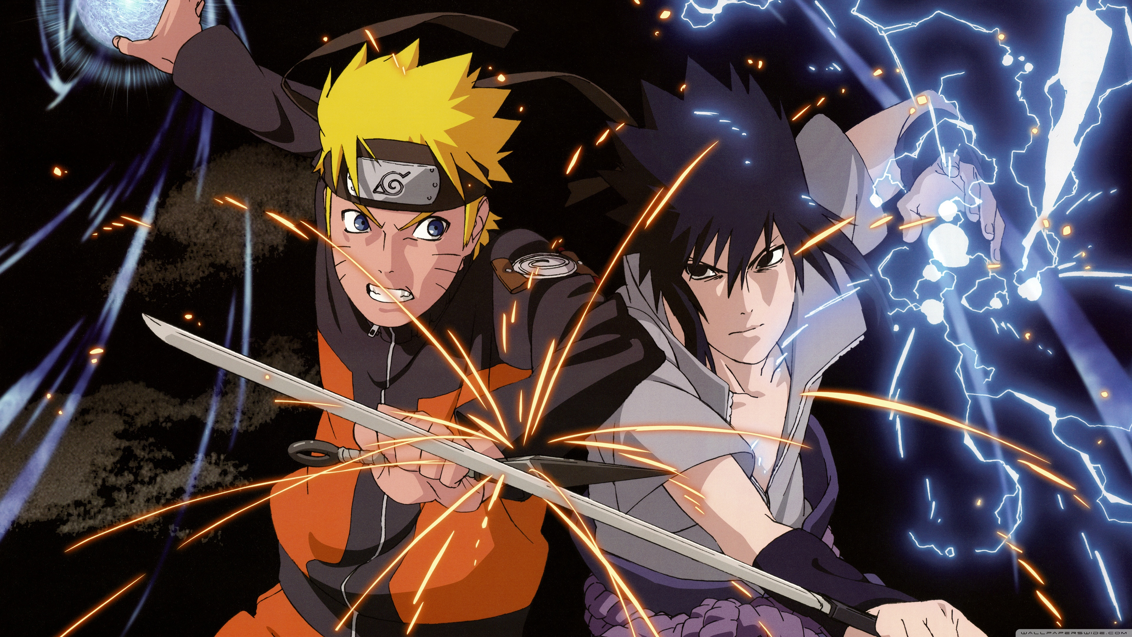 Naruto Vs Sasuke Wallpapers 11