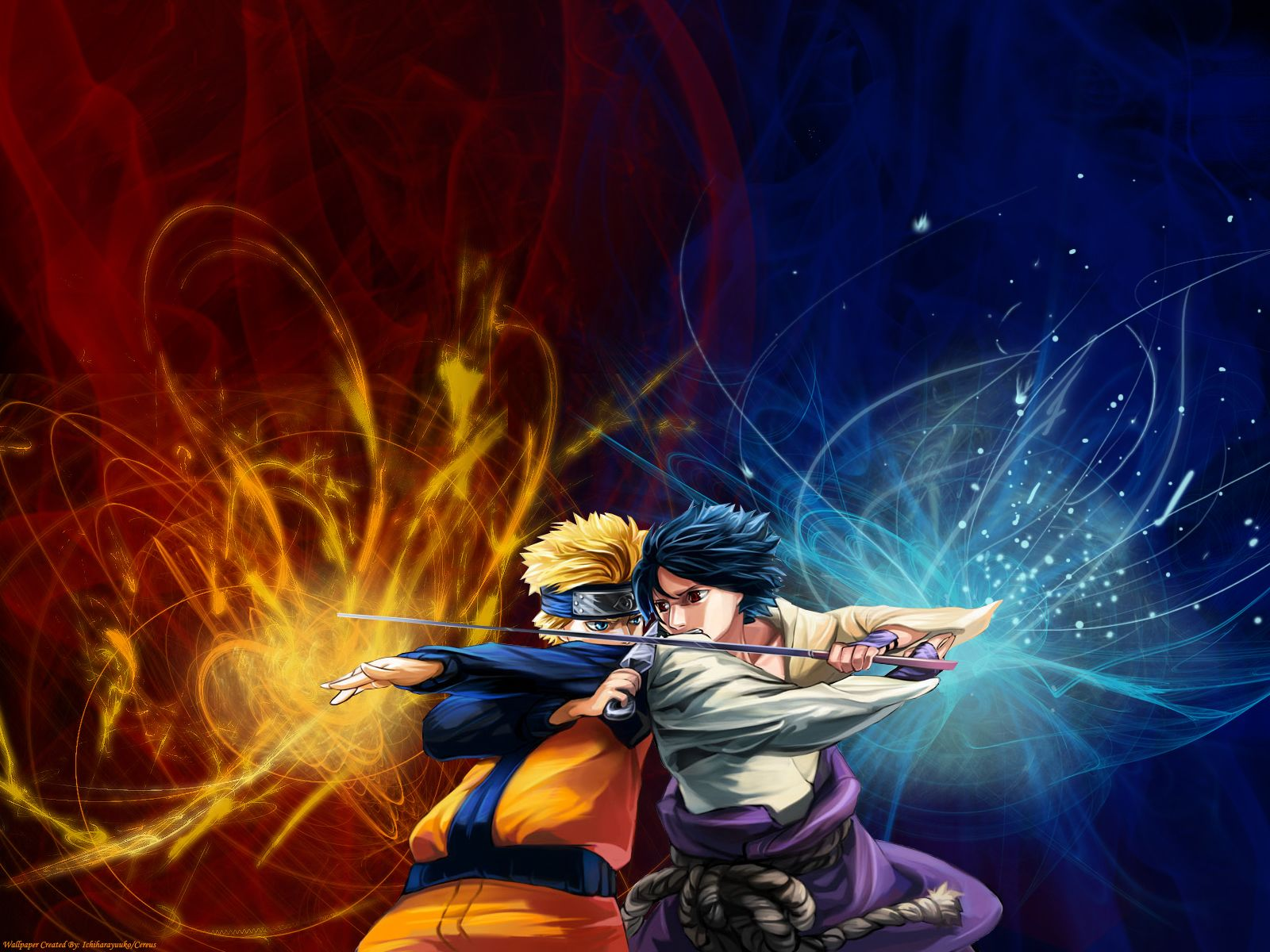 Naruto Vs Sasuke Wallpapers 21