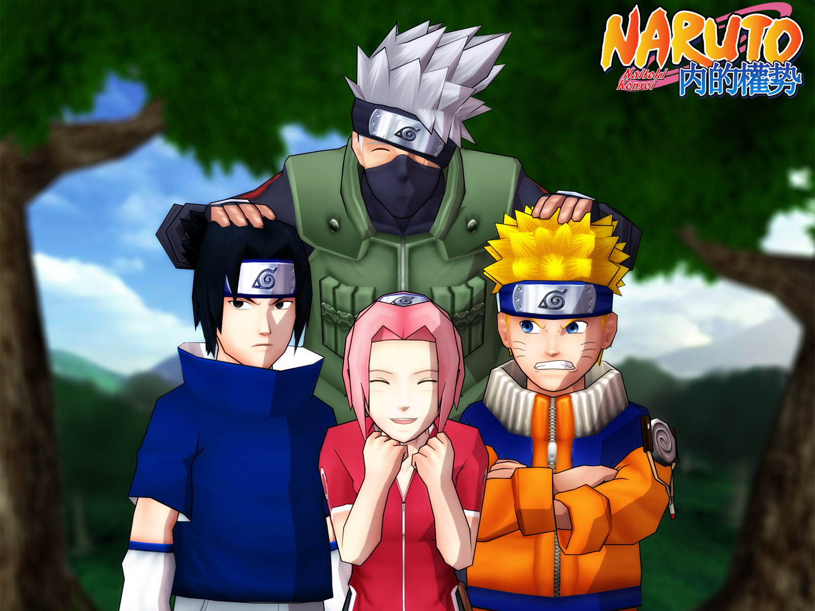 Naruto Wallpapers Team 7 8