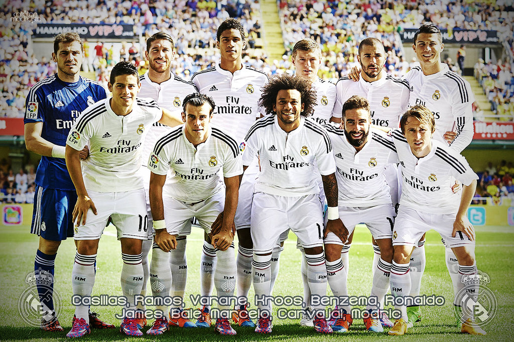 Real Madrid 2014 15 Squad Wallpaper 7