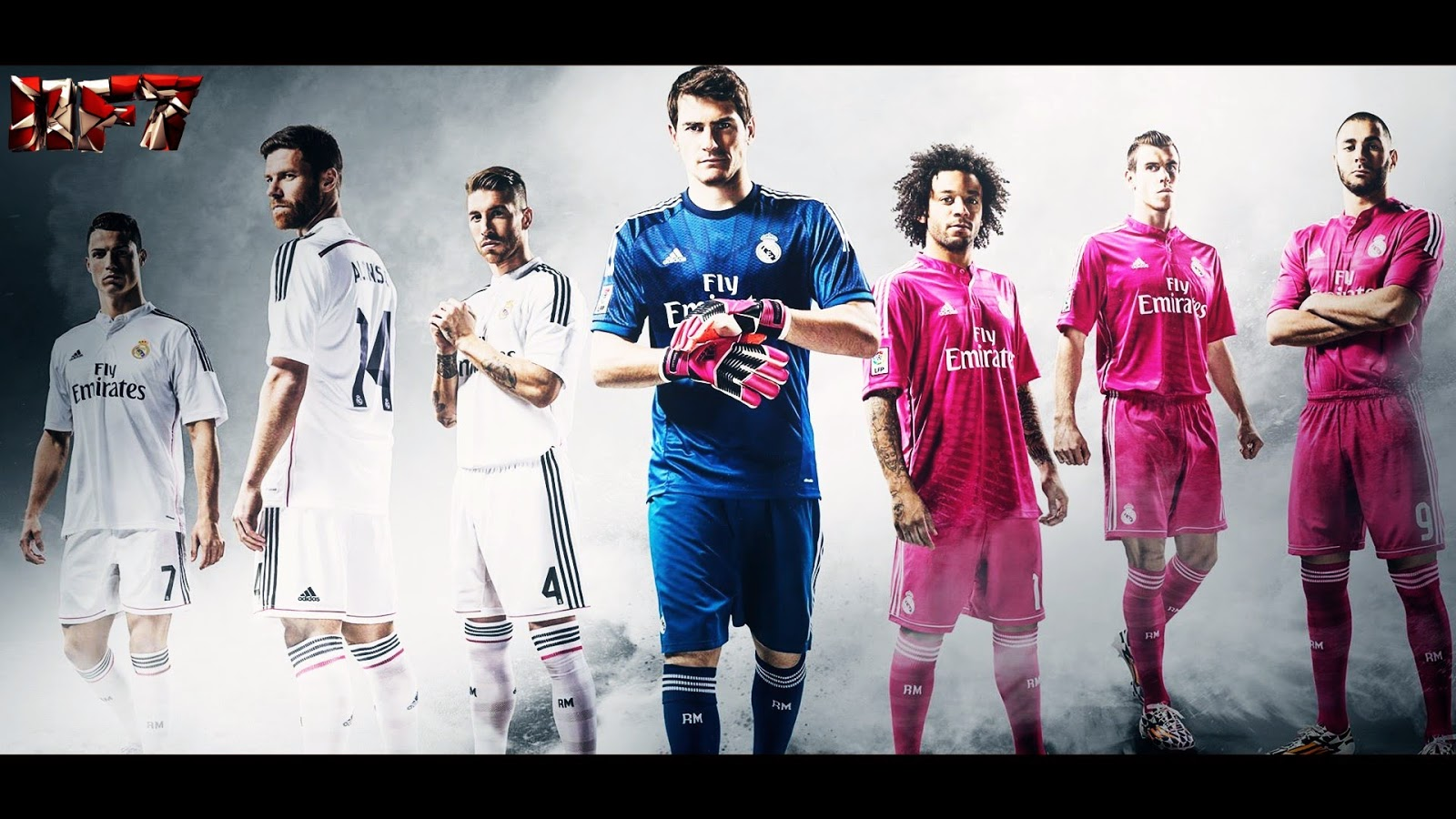 Real Madrid 2014 2015 Squad Wallpaper 7
