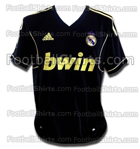 Real Madrid Logo Black And Gold 1