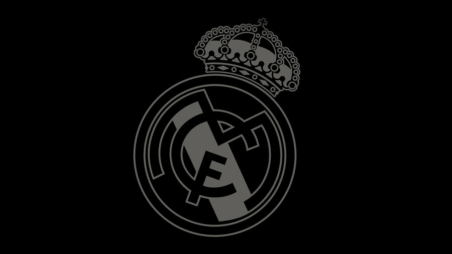 Real Madrid Logo Black And Gold 4