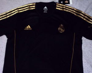 Real Madrid Logo Black And Gold 8 300×241